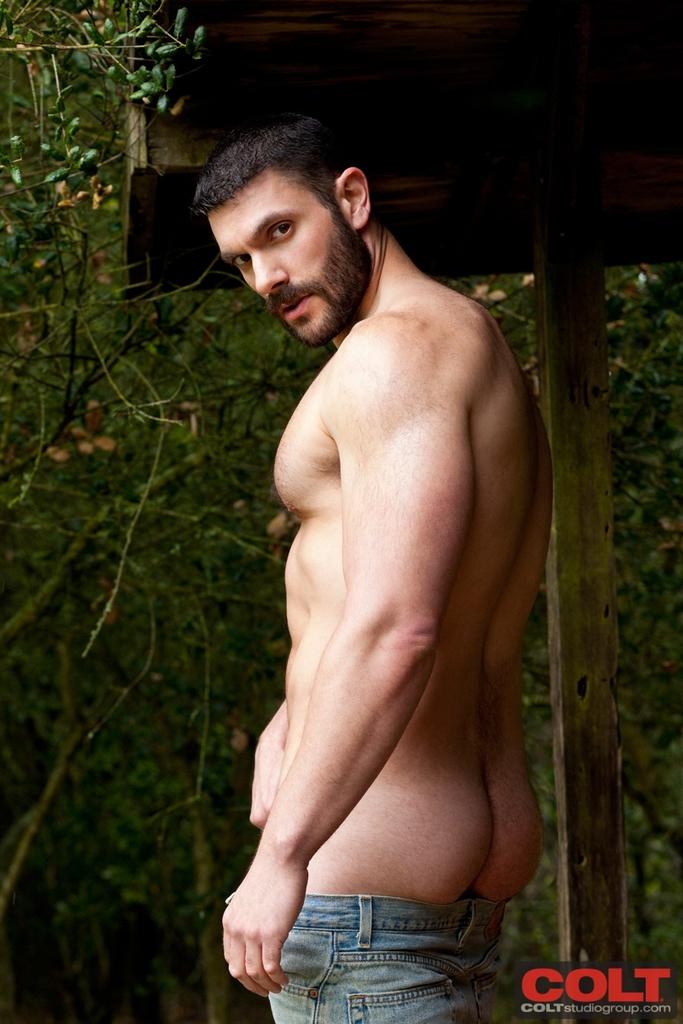 Бородатый голый гей фото 69633 фотография